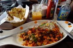Underbar lunch på Chef's Pride, Dar es-Salaam.