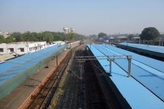 New Delhi railway station, Delhi.