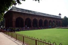Diwan-i-Am, Röda fortet, Delhi.