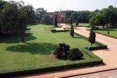 West Gate sedd från Humajuns grav, Delhi.