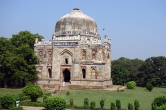 Shish Gumbad, Lodhis trädgårdar, Delhi.