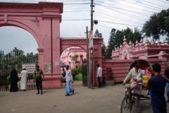 Entrén till Ahsan Manzil (rosa palatset), Dhaka.