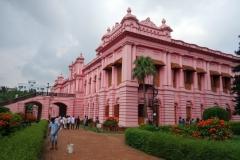 Ahsan Manzil (rosa palatset), Dhaka.