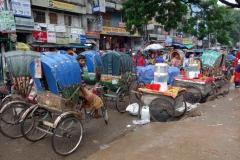 Rickshaws, old Dhaka.