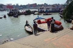 Buriganga river, old Dhaka.