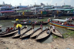 Buriganga river, old Dhaka.