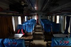 Min tågvagn på tåget till Chittagong, Kamalapur Train Station, Dhaka.