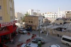 Utsikten från mitt fönster på Kingsgate hotel, Doha.