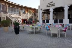 Libanesisk restaurang, Souq Waqif, Doha.