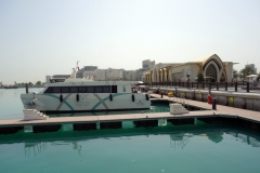 Banana Island Resort Boat Terminal, Doha.