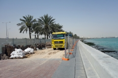 Renovering av the Corniche, Doha.