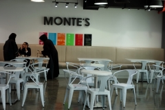Monte's Cafe, West Bay, Doha.