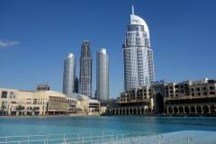 Dubai Fountain, Dubai.