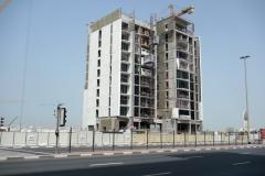 Nybyggnation finns det gott om i Dubai.