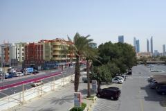 Gatuscen i stadsdelen Jumeirah, Dubai.