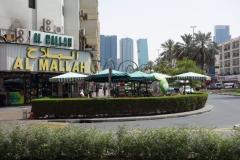 Restaurang Al Mallah i stadsdelen Al Hudaiba, Dubai. Här åt jag lunch idag.