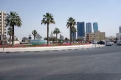 Rondellen mellan de fyra stadsdelarna Al Bada'a, Al Hudaiba, Al Jaffiliya och Satwa, Dubai.