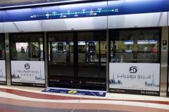 I väntan på tåget, Deira, Dubai.