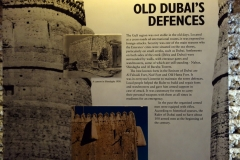 Dubai Museum, Bur Dubai, Dubai.