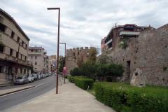Del av Durrës slott.