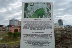 Amfiteatern från 100-talet, Durrës.