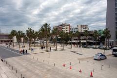 Huvudtorget i Durrës.