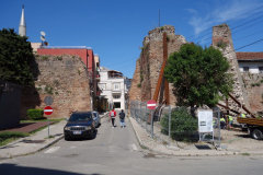 Del av stadsmuren, Durrës.