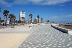 Strandpromenaden i Durrës.