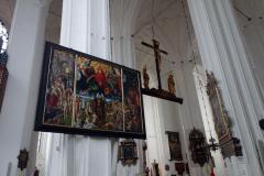 Fantastisk konst, Mariakyrkan, Gdańsk.