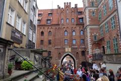 Mariaporten, Mariackagatan, Gdańsk.
