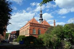 Gamla stadshuset i Gdańsk.