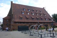 Stora Kvarnen byggd år 1350, Gdańsk.