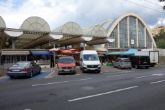 Saluhallen och marknaden i Gdynia.