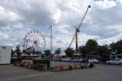 Tivoli i hamnområdet i Gdynia.