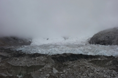 Khumbu Ice Fall från Everest Base Camp.
