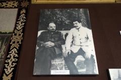 Lenin och Stalin, Josef Stalin-museet, Gori.