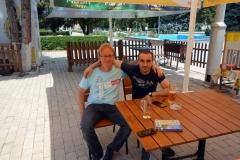 En god öl tillsammans med Tornike från västra Georgien. Stalin Park, Gori.