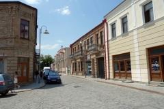 Intressant arkitektur i centrala Gori.