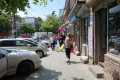 Gatuscen i centrala Gori.