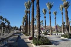 Mishol ha-Pninim Garden vid Damascus Gate, Jerusalem.