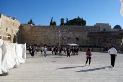 Västra muren, Jewish Quarter, Jerusalem.