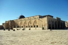 al-Aqsamoskén, Tempelberget, Jerusalem.