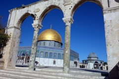 Klippdomen, Tempelberget, Jerusalem.