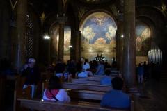 Alla Nationers kyrka (Church of All Nations), som är byggd på en klippa där Jesus sägs ha bett innan han tillfångatogs, Jerusalem.