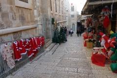Gatuscen i gamla staden, Christian Quarter, Jerusalem.
