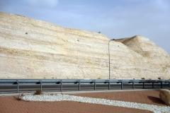 Highway 1 från Jerusalem till Döda havet.