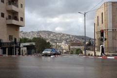 Beit Jala synligt från Hebron Road, Betlehem.