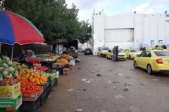 Fruktstånd vid Checkpoint 300, Betlehem.