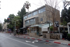 Typiska bostadshus i förorten där jag bodde, Jerusalem.