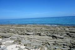 Stranden på norra sidan av Kalanggaman island. Här hittade jag bra snorkling.